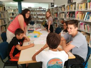 Acompañando al Consejo de Infancia y Adolescencia de la Puebla de Alfindén